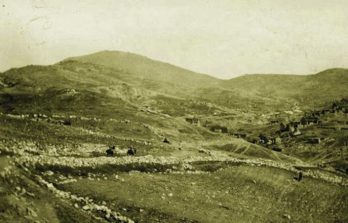 Грунишки вис – Локација од Првата светска војна