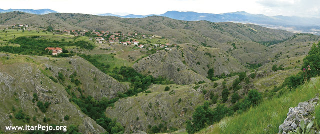 Старавина (Staravina) Мариово – родното село на Калеш Анѓа