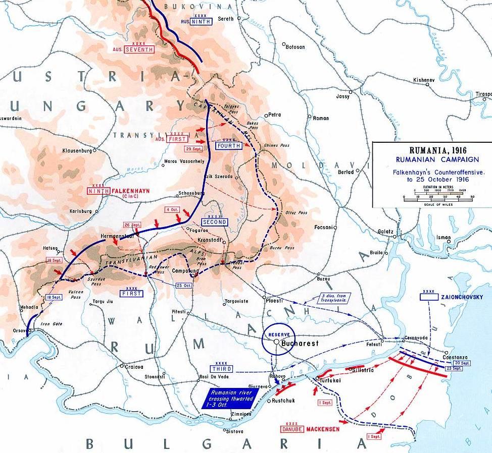 Romania WW1 2