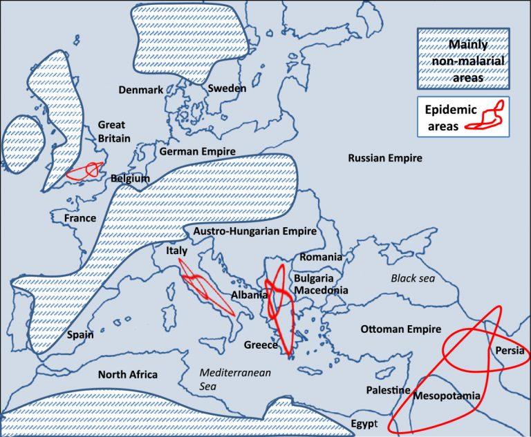 Маларијата како заразна болест во Македонија за време на Првата светска војна