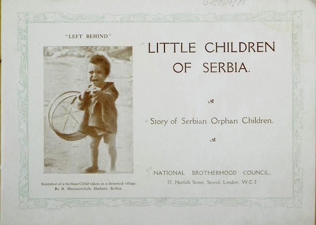 Приказна за деца сираци од Македонија и Србија испратени на школување во Англија